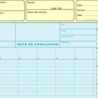 Documents de travail pour l'expertise comptable