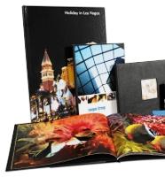 Exemple de couvertures rigides personnalisées pour livres photo