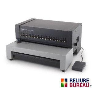 machine relier usage r gulier pour anneaux plastiques comb punch ep28pro ep 28 is et db28pro. Black Bedroom Furniture Sets. Home Design Ideas