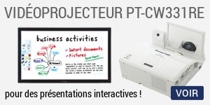 Videoprojecteur Panasonic PT-CW331RE Interactif PT-CW331RE